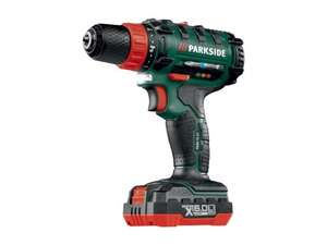 PARKSIDE 16V Cordless Drill/driver 2AH Li-ion battery(no hammer action)LIDL instore for £29.99
