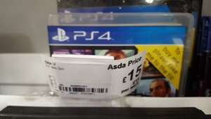Gta 5 only £15 ps4 instore @ ASDA - Ipswich