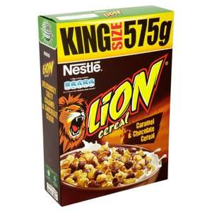 Lion Cereal 575G £1.79 @ Home Bargains