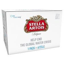 Stella Artois 4.8% lager 20x284ml £9 (£1.58/litre) Tesco instore & online