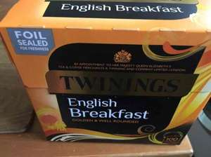 twinings English breakfast tea - 75p instore @ ASDA