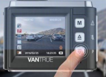 Vantrue N1 Dashcam £54.98 @ Sold by VANTRUE_EU and Fulfilled by Amazon.
