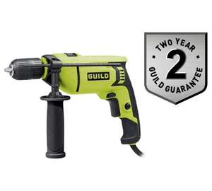 Guild 13mm Keyless Corded Hammer Drill - 750W - £22.49 @ Argos