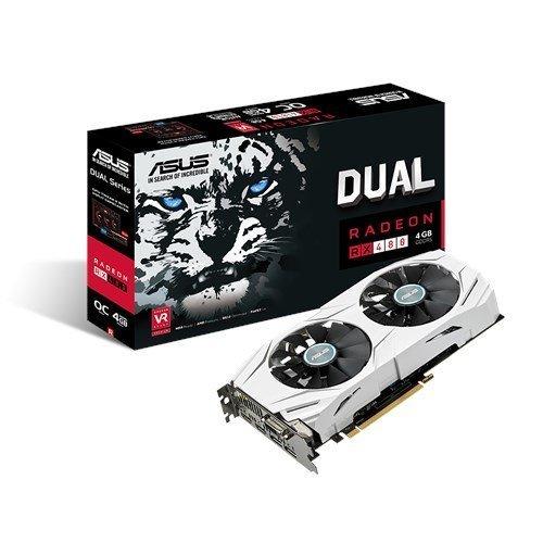 ASUS DUAL-RX480-O4G Radeon 4GB RX480 @ £155.99 Amazon