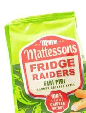 Mattessons Piri Piri fridge raiders 39p @ heron
