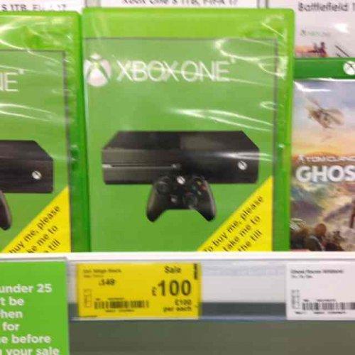 Xbox one 500gb - £100 instore @ ASDA (Spennymoor)