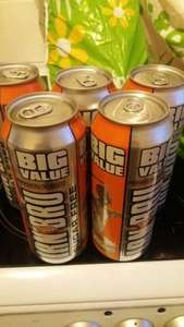 5 x 500ml cans sugar free IRN BRU for £1 in store Heron Foods