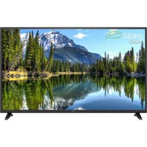 "Seiki SE60FO01UK 60"" Full HD Smart TV - Black £357+ £5+ TCB from AO.com this weekend only"