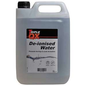 TRIPLE QX De-Ionised Water [5Ltr] £1.60 delivered with code @ Eurocarparts