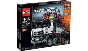 LEGO Technic - Mercedes-Benz Arocs 3245 in stock £110.97 at Asda.com