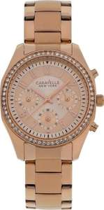 Caravelle New York Ladies rose gold watch model no. 44L117 £13.59 delivered @ eBay sold by Argos