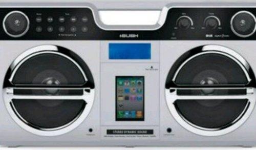 Bush DAB/FM Radio Retro Boombox + Ipod Docking Station was £46.99 now £24.99 @ Argos