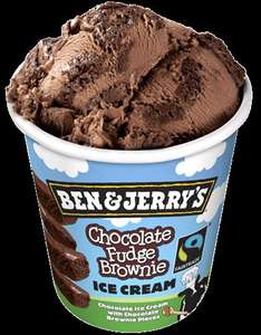 Ben & Jerry's Chocolate Fudge Brownie Ice Cream £2.50 (+ most other varieties)  Sainsburys