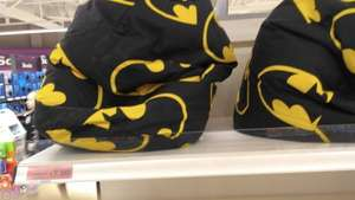 Batman Beanbag . £7.50 @ Sainsburys Poole