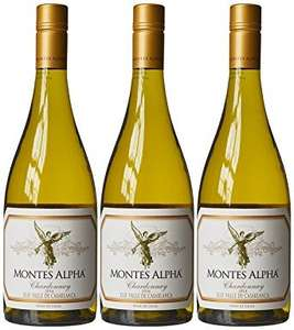 Montes Alpha Aconcagua Chardonnay 2014 75cl (Case of 3) £17.59 @ Amazon. Free delivery for Prime members.