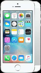 Apple iPhone 5s 16GB Silver/White 2000mins/5000txts/4GData, Talkmobile 24mth, £15 per mth/£360 total @mobilephonesdirect.co.uk