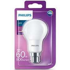 Philips LED E14 E27 B22 GU10 Light Bulbs 3 for GBP £9.98  @ B & M