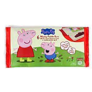 Peppa Pig Muddy Puddle Chocolate Bars 6 x 12g Bars 49p - Buy 1 get 1 half price reduced to clear @ Holland & Barrett