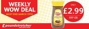 Weekly WOW Deal Kenco Coffee House Roast 190g £2.99 RRP £6 @ Poundstretcher