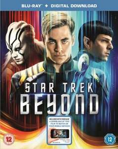 Star Trek Beyond Blu-Ray £9 [Using Code] @ Zoom