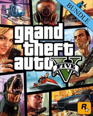 Grand Theft Auto V 5 - Great White Shark Card Bundle PC £23.99 @ Cd Keys