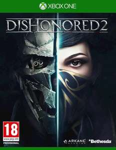 Dishonored 2 - XB1/PS4 - £14.99  brand new at Grainger Games