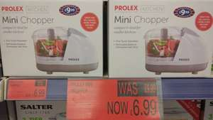 Prolex mini chopper only £6.99 instore @ B&M