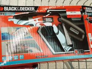 Black and Decker compact lithium screwdriver - £9 instore @ Asda