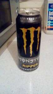 monster energy drink 2 for a £1 instore @ farmfoods