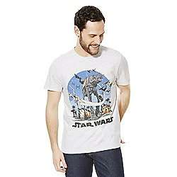 ​Star Wars Men's AT-AT Walker t-shirt(sizes XS,M,L,XL,XXL) £5.00 click n collect at Tesco.