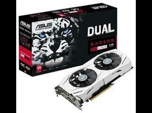 ASUS Radeon RX 480 Dual 4GB Overclocked Graphics Card & free copy of DOOM