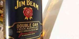 Jim Beam Double Oak Bourbon (whiskey) £18.99 Prime / £23.74 Non-Prime @ Amazon