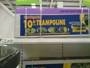 10ft trampoline £49.50 instore at asda
