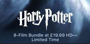 Harry Potter 8-film HD collection £19.99 @ iTunes