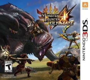 Monster Hunter 4 Ultimate used (Nintendo 3DS) at Grainger Games for £11.99