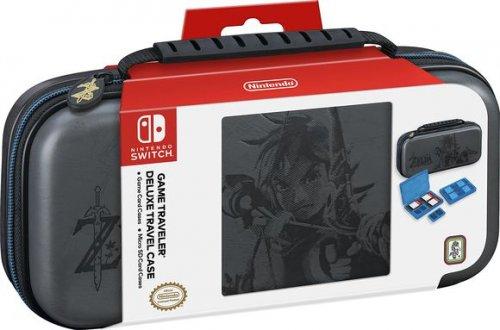 Nintendo Switch Deluxe Travel Case - Zelda (Grey) @ Coolshop + Topcashback/Quidco for £21.95