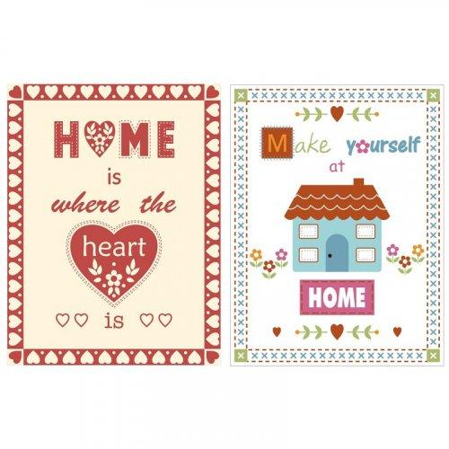 Home Velour Cotton Tea Towels 2 Pack £0.99 @ QD