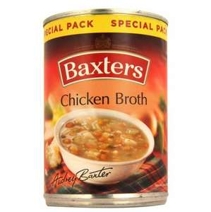 Baxters Scotch Broth, Highlanders Broth, Minestrone & Chicken Broth 380g Soups 10p @ Poundstretcher RRP £1.10