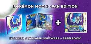Pokémon Moon: Fan Edition (3DS) £30  Dispatched from and sold by Fuzion / Amazon