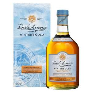 Dalwhinnie Winter's Gold Highland Single Malt Scotch Whisky 70cl - £26.45 @ Ocado