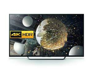 Sony Bravia 49 inch Android 4K HDR Ultra HD Smart TV with Youview, Freeview HD, PlayStation Now (2016 Model) - Black [Energy Class a] £550 @ Amazon
