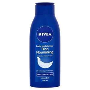 Nivea rich nourishing 400ml £2 @ Superdrug