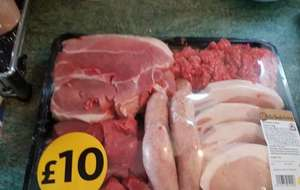 Butcher's Value Meat Pack at Morrisons 2.3kg just £10!