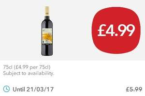 a gorgeous Shiraz - £4.99 - The Co-Op