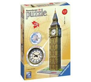 Ravensburger Big Ben with Clock, 3D Jigsaw Puzzle Was £24.99 now £11.99 @ Argos