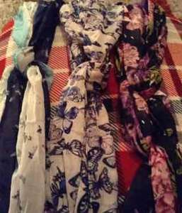 Pattened scarves @ poundland instore - £1 each