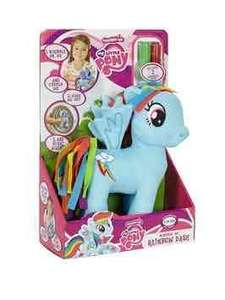 My Little Pony scribble me Rainbow Dash now £6.99 was £15.99 @ very free next day c&c or £3.99 delivery