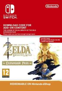 The Legend of Zelda Breath of the Wild Expansion Pass (5%off with cd keys code) £15.67 @ CDKeys