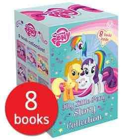 My Little pony 8 book collection now £10.94 delivered (7.99+£2.95 delivery) @ the book people