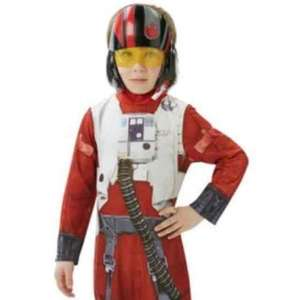 Star Wars: The Force Awakens Poe Dameron Costume - 5 -6 & 7 - 8 Years - £9.99 @ Argos (Free C&C)
